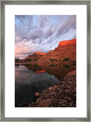 Framed Print featuring the photograph Western Colorado by Ronda Kimbrow