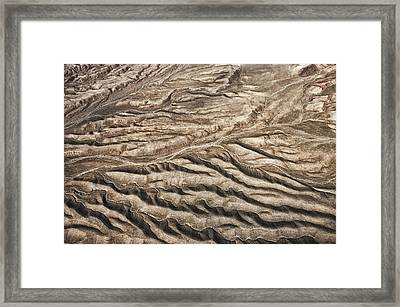 Framed Print featuring the photograph Western Desert Tapestry by Gary Slawsky