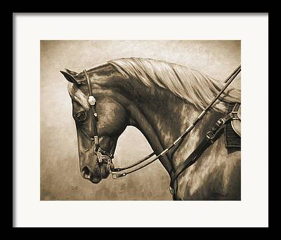Western Art Framed Prints
