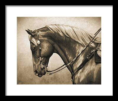 Equestrians Framed Prints