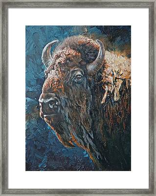 Western Icon Framed Print by Mia DeLode