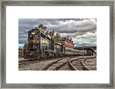 Western Maryland Scenic Railroad Framed Print