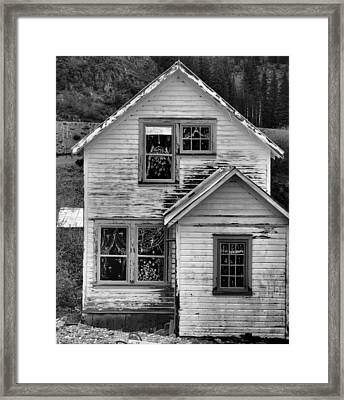Western Mining Home Framed Print by Dan Sproul