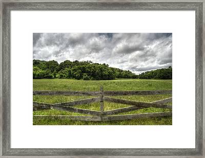 Western North Carolina Framed Print