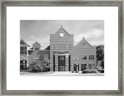 Western Oregon University - Hamersly Library Framed Print by University Icons