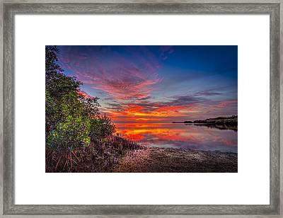 Western Sky Framed Print by Marvin Spates