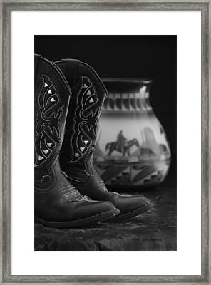 Framed Print featuring the photograph Western Still Life 2 by Kenny Francis
