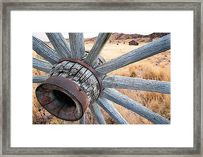 Western Ways Framed Print