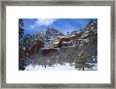 Westfork Captivates Framed Print by Tom Kelly