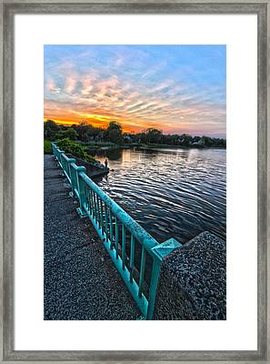Westhampton-quogue Bridge Framed Print