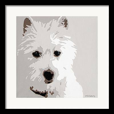Canine Art Framed Prints