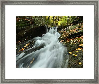 Westledge Cascade Framed Print