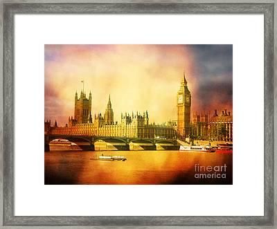 Westminster 2 Framed Print by Heidi Hermes