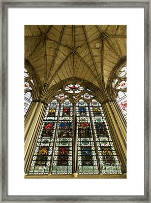 Westminster Abbey Chapter House 2 Framed Print