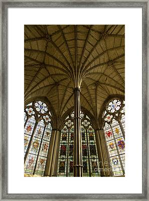 Westminster Abbey Chapter House Framed Print