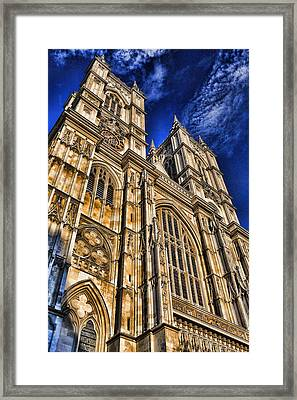 Westminster Abbey West Front Framed Print