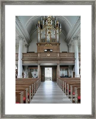 Westminster College Chapel Framed Print by David Bearden