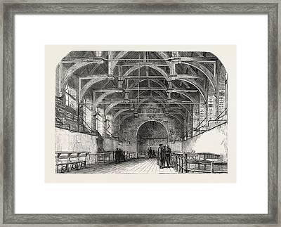Westminster School, London, Uk Framed Print