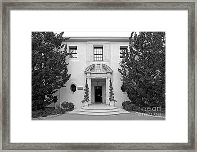 Westmont College Kerrwood Hall Framed Print by University Icons