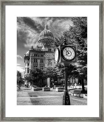 Westmoreland Courthouse Greensburg Framed Print by Coby Cooper
