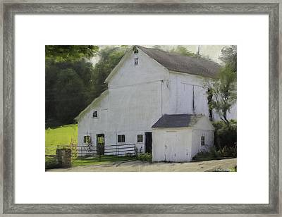 Westport Barn Framed Print