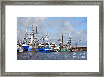 Westport Fishing Boats 2 Framed Print by Chalet Roome-Rigdon