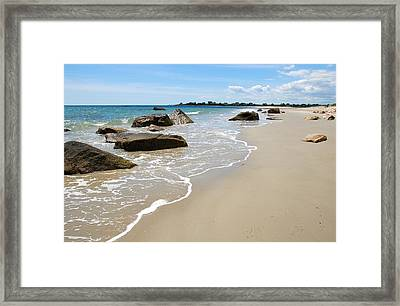Westport Harbor_10 Framed Print
