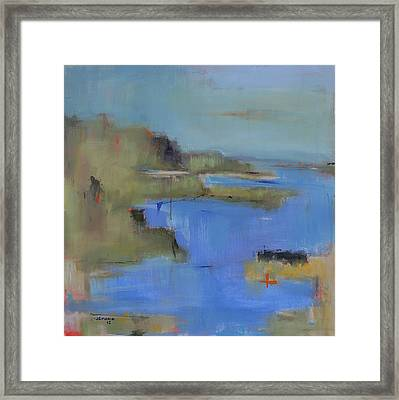 Westport River Framed Print by Jacquie Gouveia