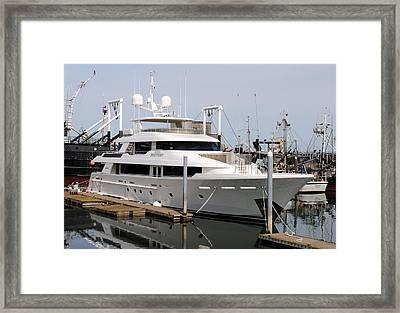 Westport Yacht Framed Print by Michael Bruce