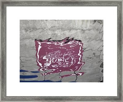 Wet 4 Framed Print by Ingrid Van Amsterdam