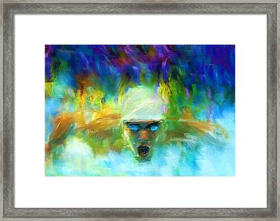 Wet And Wild Framed Print