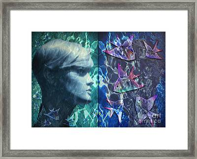 Wet Fantasies Framed Print