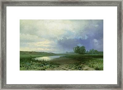 Wet Meadow Framed Print