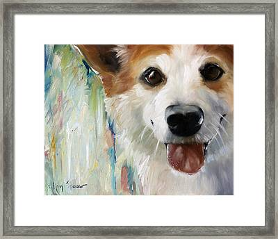 Wet Paint Framed Print by Mary Sparrow