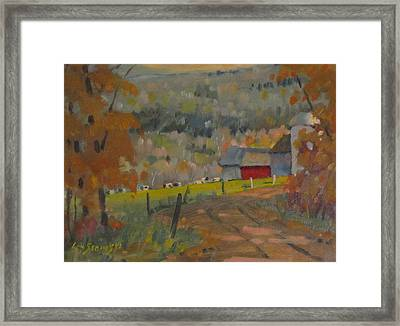 Framed Print featuring the painting Wet Paint by Len Stomski