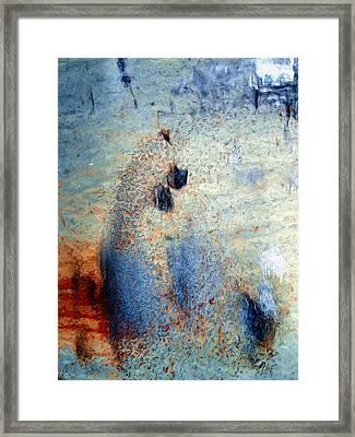 wet Framed Print by Tom Druin