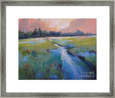 Wetland Framed Print by Melody Cleary