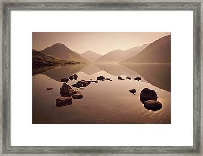 Wetlands Mornings Framed Print