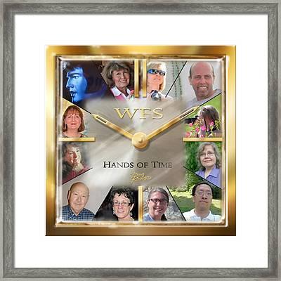 Wfs Hands Of Time Framed Print by Doug Kreuger