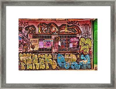 Whacky Windows Framed Print by Graham Hawcroft pixsellpix
