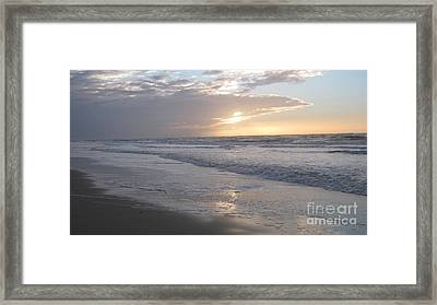 Whale In The Clouds Framed Print by Heidi Sieber