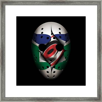 Whalers Become Hurricanes Framed Print