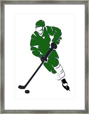 Whalers Shadow Player Framed Print