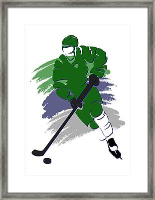 Whalers Shadow Player2 Framed Print