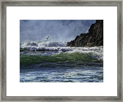 Whales Head Beach Southern Oregon Coast Framed Print
