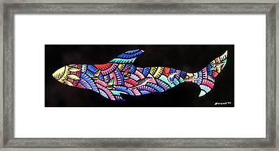 Whales Sf Framed Print
