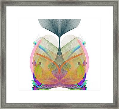 Whale's Tale - Ticker Symbol Wtsla Framed Print