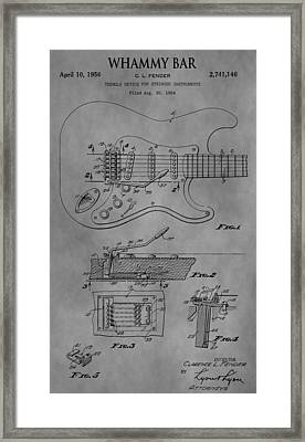 Whammy Bar Framed Print by Dan Sproul