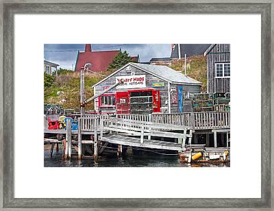 Wharf Hags Peggy's Cove Framed Print