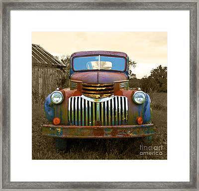 What A Beauty Framed Print by John Debar